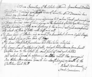 Werner Spainhour--Estate Record 1787.jpg