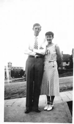 F. B. Van Kleeck and his wife Helen Guthridge
