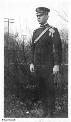 F. B. Van Kleeck, Jr. in Spanish American War uniform