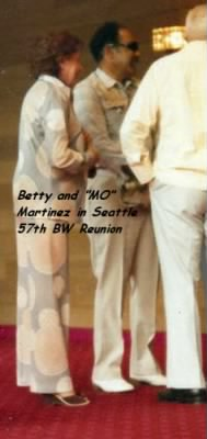 "Betty Jean and ""Mo"" Martinez, Seattle Reunion of the 57th BW"