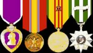 (LTC) Major Whitlock's Medals