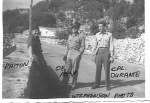 Lt Kenneth DeMay and a fellow Officer /Stepehson Photo
