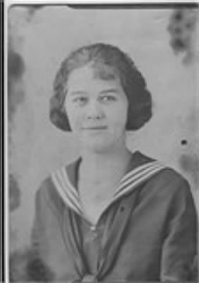 mae bills 1921 graduation.JPG