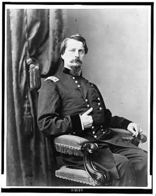 4657 - Major General Winfield S. Hancock, three-quarter length portrait, seated, facing front › Page 1 - Fold3.com