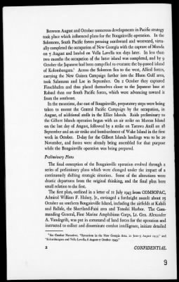 Solomon Islands Campaign: XII-The Bougainville Landing and the Battle of Empress Augusta Bay, 10/27/43-11/2/43 › Page 9 - Fold3.com