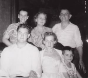 Walter C Mick & family (daughter Maryann, wife Catherine, son Walter Jr. & his wife, Marcella, & and grandson Jimmy.jpg
