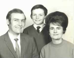 Doreen with son, Steve, and then-husband Terry