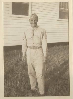 Grandpa Roy Bliss during WWII.JPG