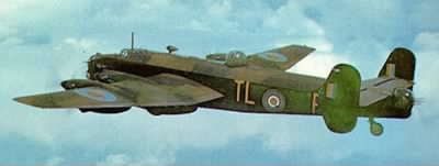 Halifax Bomber from Leeming, England.  Ogden was a Combat Pilot in the ETO / WWII - Fold3.com