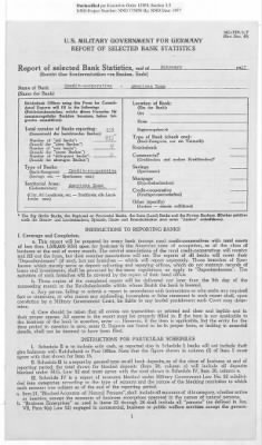 American Zone: Report of Selected Bank Statistics, February 1947 › Page 14 - Fold3.com