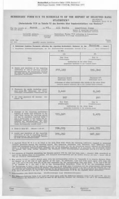 American Zone: Report of Selected Bank Statistics, March 1947 › Page 18 - Fold3.com