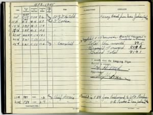 Zepellin K-54 Log Book