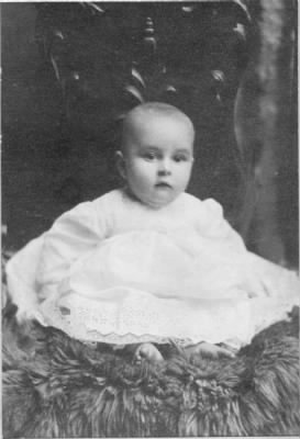 Dallas Winfield Greer as an infant