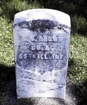 Civil War Headstone