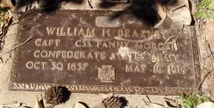 Dr William Herbert Beazley CSN Headstone