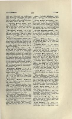 Part II - Complete Alphabetical List of Commissioned Officers of the Army › Page 9 - Fold3.com