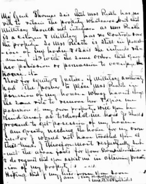 Harriet L Whiteside Ltr re House2.JPG