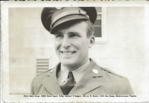 321stBG,448thBS, S/Sgt Herbert E Rodgers, KIA on 31 March, 1943, Lost at Sea. MTO