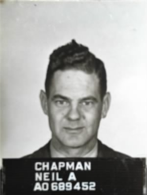 1st Lt. Neil Adelbert Chapman, U.S. Army Air Force, U.S. Air Force