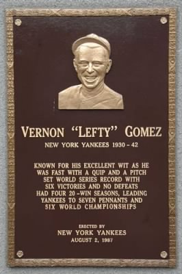 Hall Of Fame Plaque