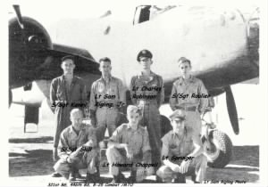 321stBG,446thBS, Lt Sam Rigling Photo /The B-25 Missouri Waltz and her Combat CREW