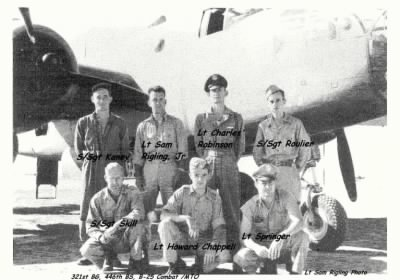 321stBG,446thBS, Lt Sam Rigling Photo /The B-25 Missouri Waltz and her Combat CREW - Fold3.com