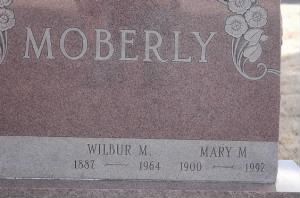 Moberly Headstone