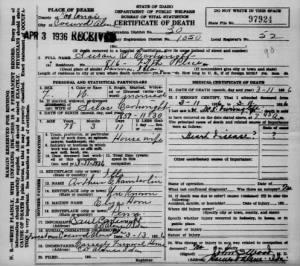 Susan O Chamberlin Cartwright 1936 ID Death Cert.jpg