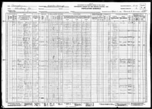 1930 U.S. Census, Curtis Cooper