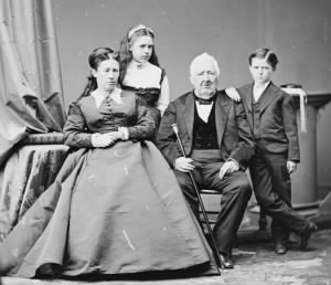 Julia Grant with family