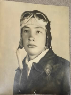 Nelson as a Cadet during WWII