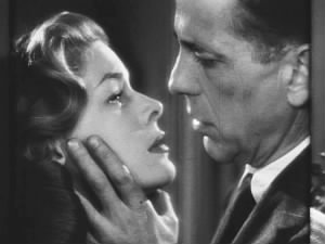 Humphrey Bogart and wife Lauren Bacall