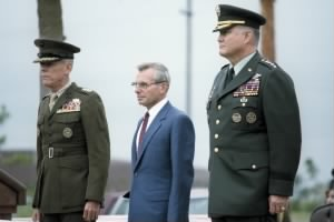 Schwarzkopf becomes commander of U.S. Central Command