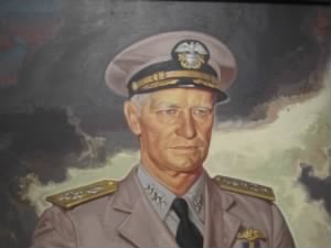 Chester Nimitz, National Portrait Gallery