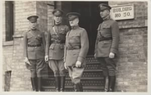 General John J. Pershing and Officers