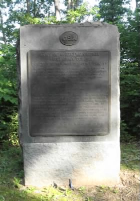 Monument to Pickett's Division on the Army of Northern Virginia at Gettysburg
