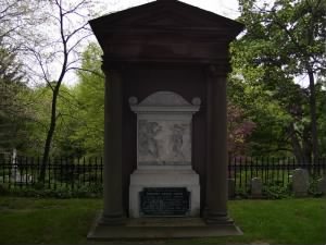 Shaw memorial at Mount Auburn Cemetery