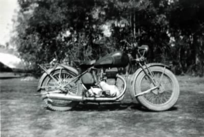 Emory Cox in India WWII 19431944 Indian Motorcycle..jpg