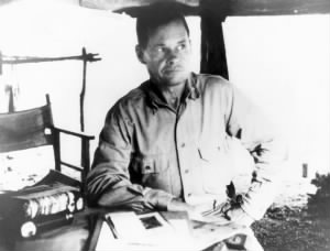 Puller on Guadalcanal in September, 1942