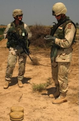 SSG Jessen on right