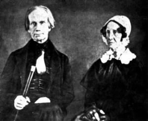 Henry Clay and his wife, the former Lucretia Hart