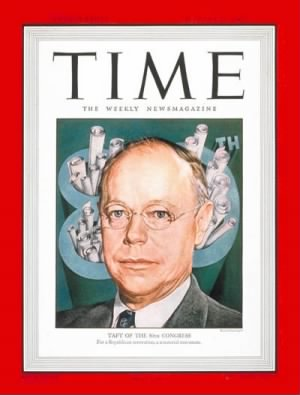 Robert A. Taft Time Magazine