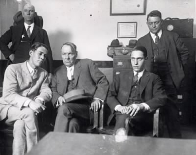Clarence Darrow with Leopold and Loeb - Fold3.com