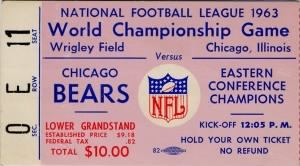 Championship Game Ticket