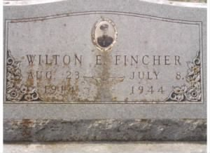 Wilton E Fincher Headstone  Closer View.jpg