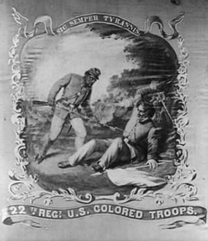 260px-22nd_US_Colored_Troops_banner.jpg