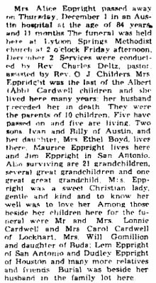 Mary Alice Cardwell Eppright 1955 Obit.jpg