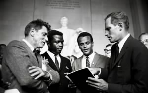Burt Lancaster,Sidney Poitier, Harry Belafonte and Charlton Heston -.jpg