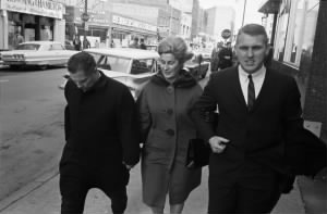 Jimmy Hoffa Walking with His Wife and Son.jpg