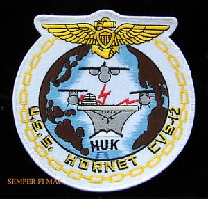 USS Hornet (CVS-12) patch.JPG